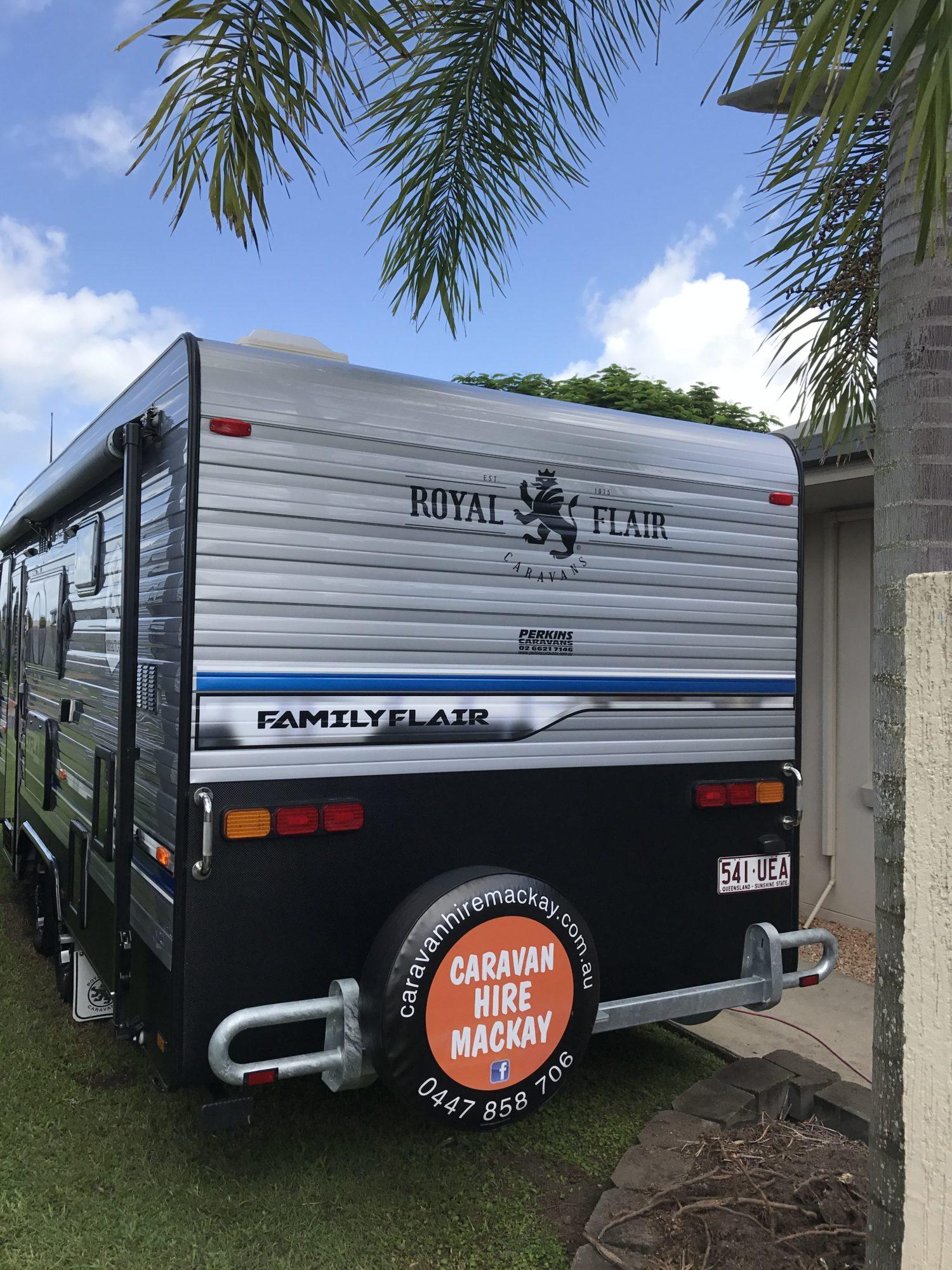 5 Berth Ensuite Caravan : Caravan Hire Mackay