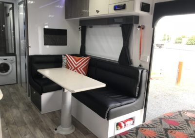 Interior 2018 4 Berth Ensuite Caravan Hire Mackay
